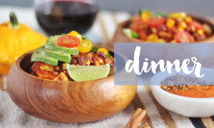 Browse my Healthy, Plant Based Dinner Recipes // JustineCelina.com