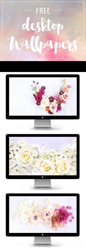 JustineCelina Free Desktop Wallpapers | Free Floral Desktop Wallpapers | JustineCelina Digital Blooms // JustineCelina.com